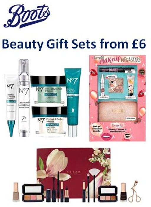 Boots Beauty Gift Sets FOR HER from £6