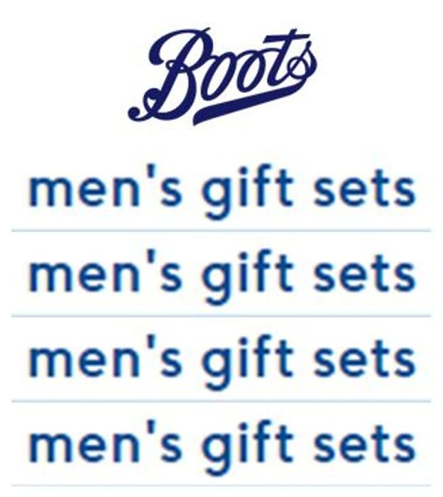 Men's Gift Sets at Boots