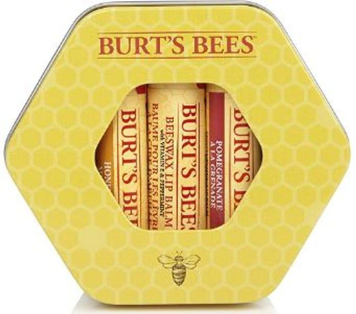 Burt's Bees Trio Moisturising Gift Set in a Tin