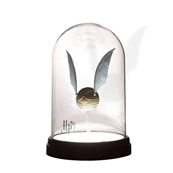 Cheap Harry Potter Golden Snitch Bell Jar Light, reduced by £9.99! at AMAZON