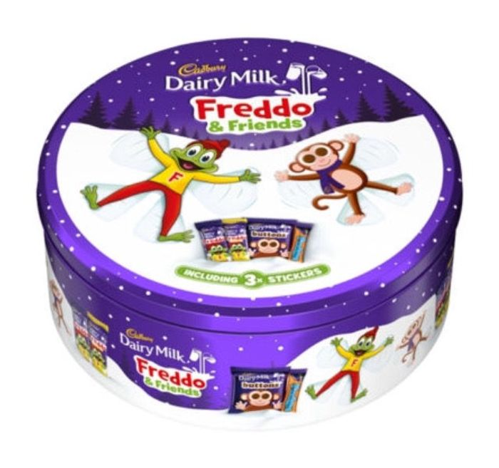 Cadbury Dairy Milk Freddo & Friends Chocolate Tin 420g