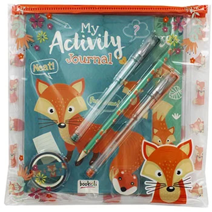 Foxes Pencil Case Pack at The Works