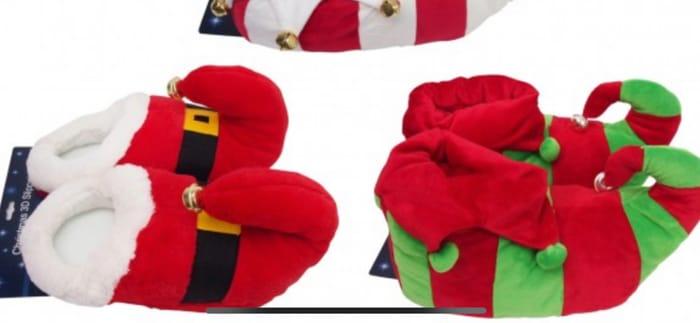 Jingle Jingle! Novelty Elf Slippers