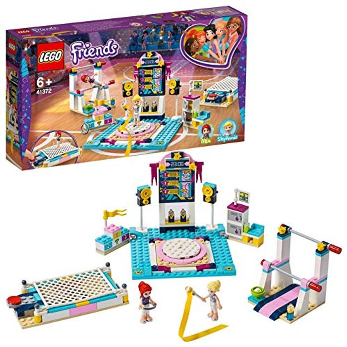 LEGO 41372 Friends Stephanies Gymnastics Show Playset