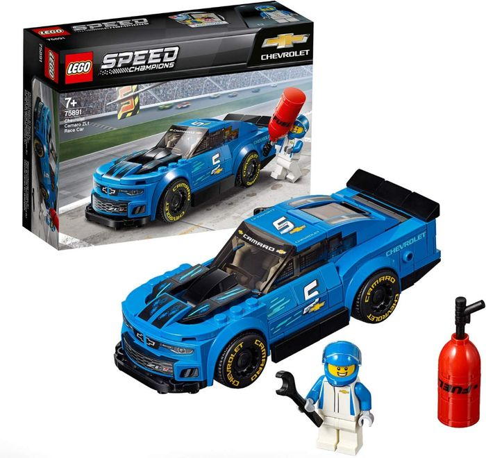 LEGO Speed Champions Chevrolet ZL1 Camaro Driver Race Car Building Set Only £8.5