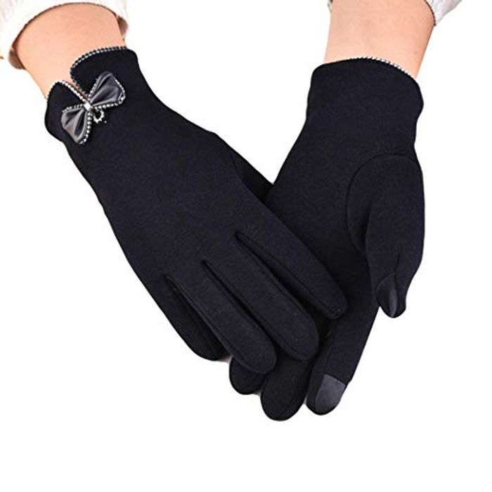 Save 80% on These Ladies Touch Screen Winter Gloves