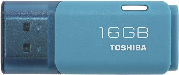 Toshiba TransMemory 16GB USB Flash Drive USB 2.0 - Aqua