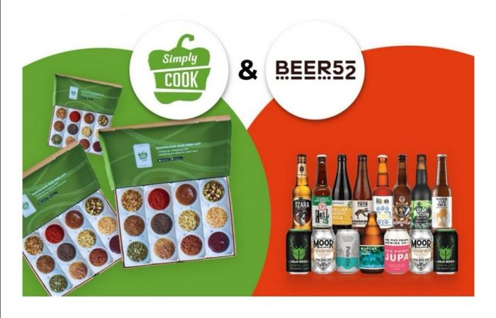 Buy a Gift Subscription from Simply Cook & Get A Free Box of Beer