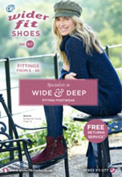Get a Catalogue from DB Wider Fit Shoes FREE by POST