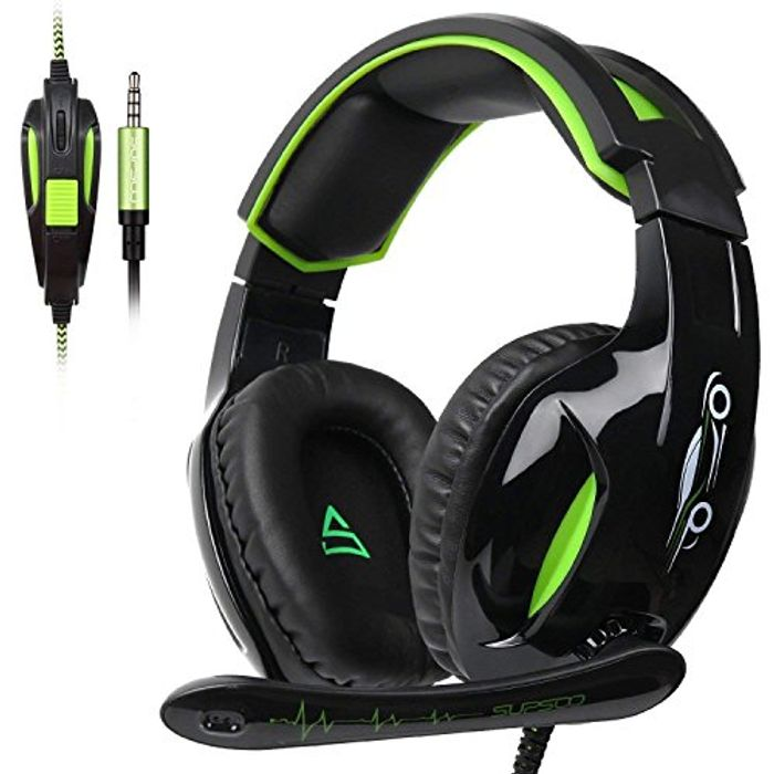 Xbox One Gaming Headset with Mic & Noise Canceling & Volume Control - save 20%