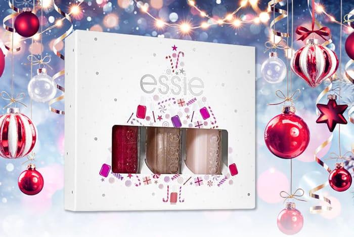 Essie Christmas Mini Nail Polish Trio Set