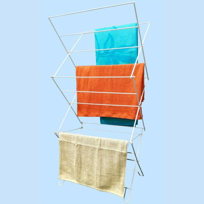 Clothes Airer 3 Tier Laundry Dryer Folding Indoor Concertina Drying Towel Rack