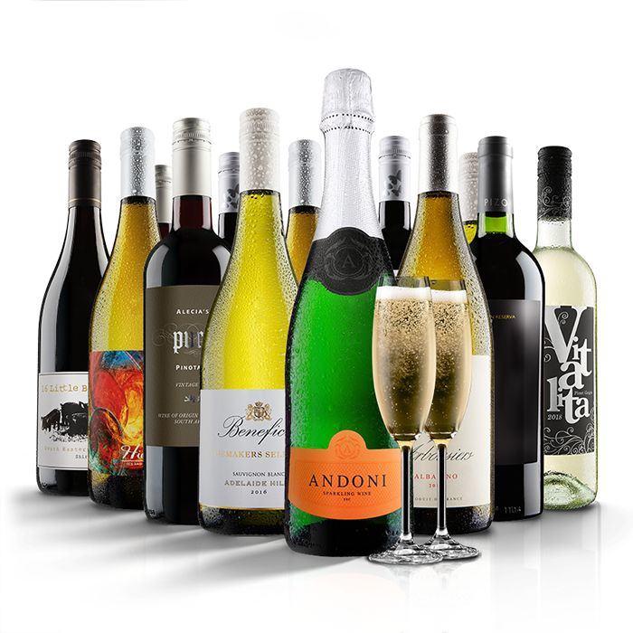 Exclusive - 55% Off 12 Bottles Of Wine + Free Fizz + Free Delivery!