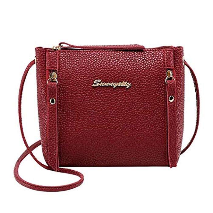 Artificial Leather Shoulder Bag 70% discount - Great buy!