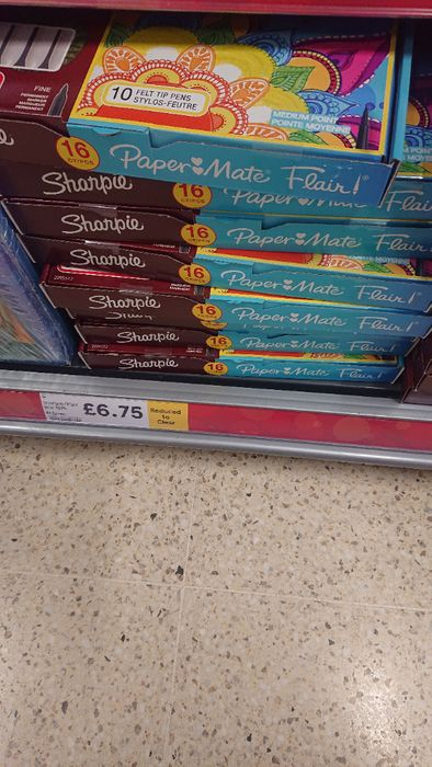 Sharpies Reduced to £6.75