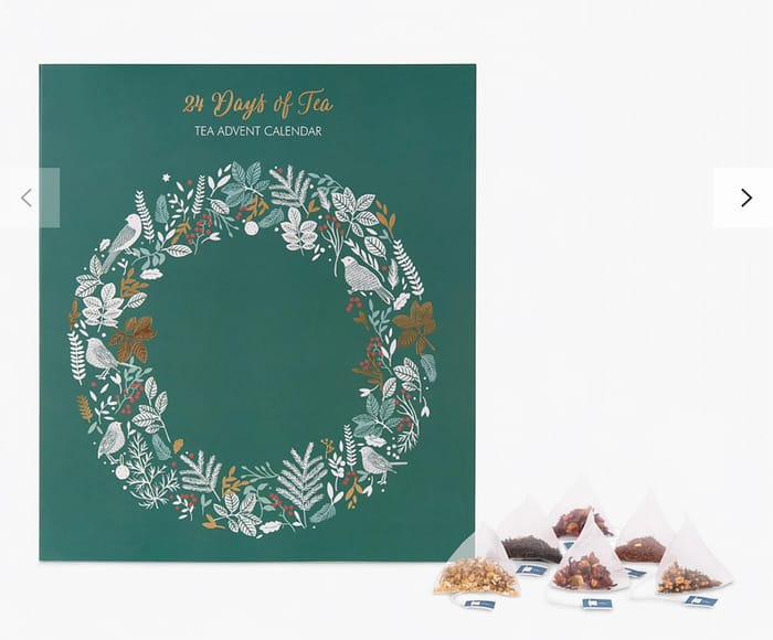 Tea Advent Calendar, Half Price!