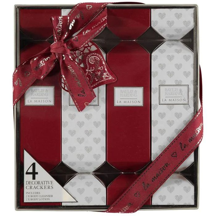 Baylis & Harding La Maison Fig & Cassis 4 Cracker Set, Only £2.50!