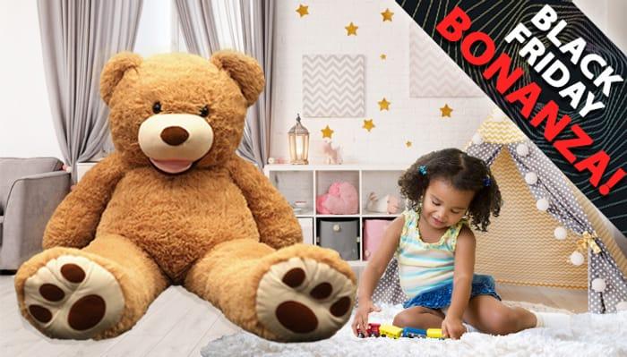 Giant 1m Plush Teddy Bear