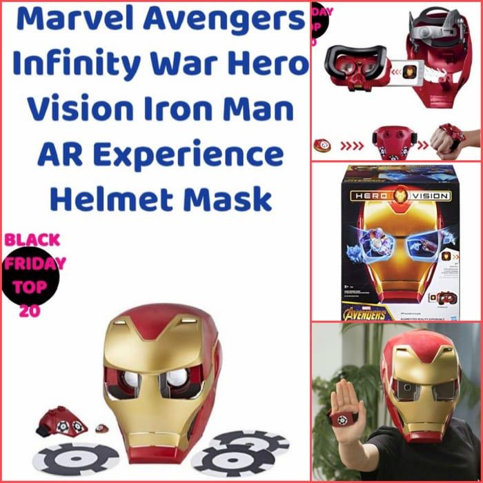 Infinity War Hero Vision Iron Man AR Experience Helmet Mask