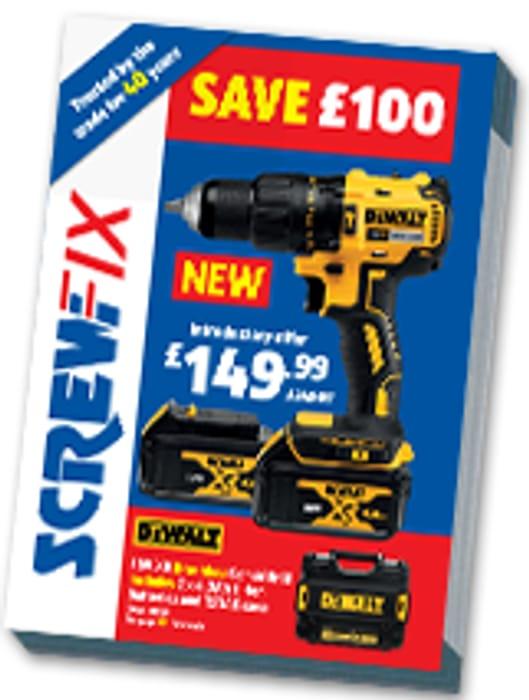 Free SCREWFIX Catalogue