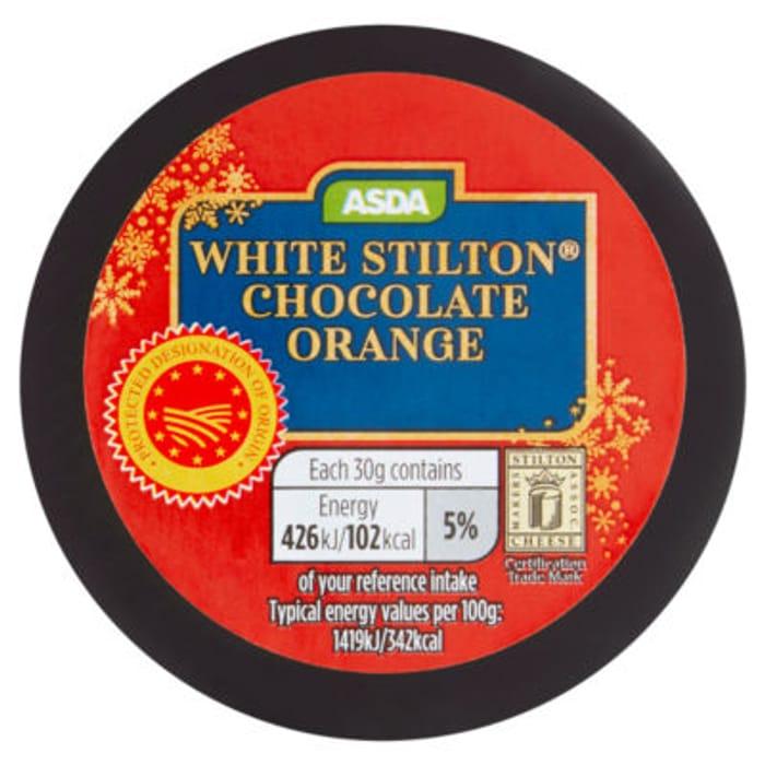 ASDA White Stilton Chocolate Orange at ASDA