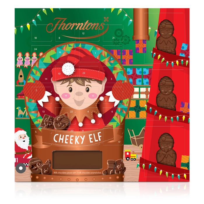 Premium Elf Advent Calendar