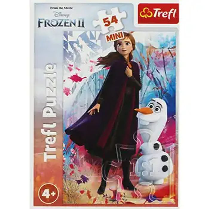 Cheap Disney Frozen 2 Anna and Olaf Mini 54 Piece Puzzle, Only £1!