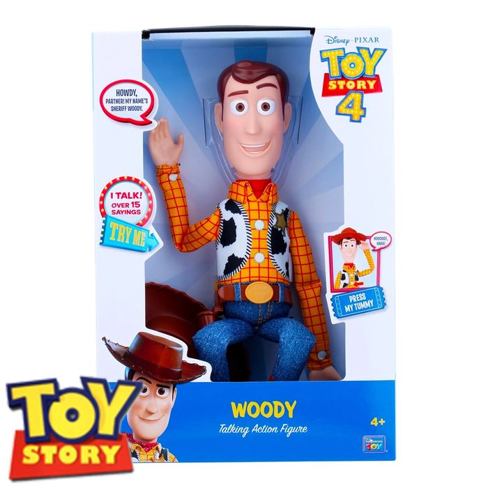 Toy Story 4 Talking Action Figure: Woody