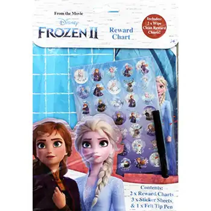 Cheap Disney Frozen 2 Reward Chart on Sale From £2.99 to £1.5!