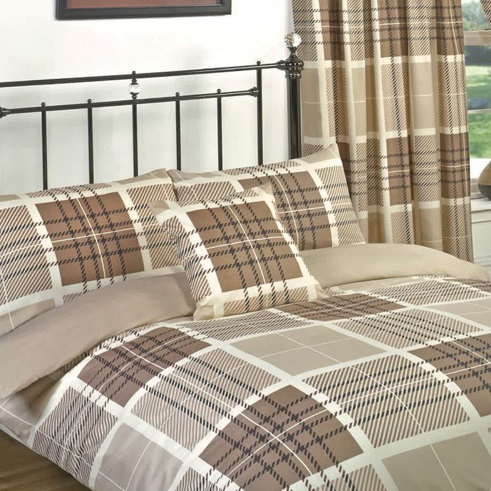 Double Size Duvet Set with Matching Curtains