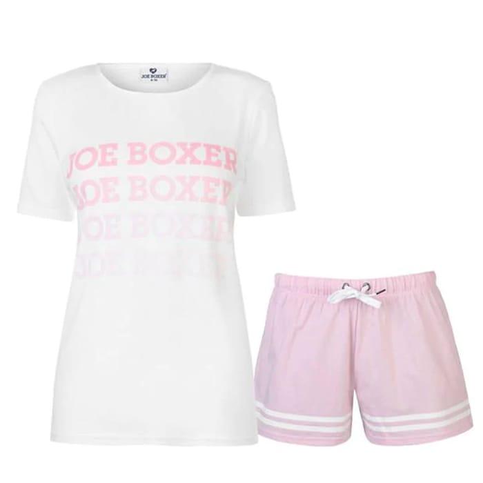 JOE BOXER Short Pyjama Set Ladies save £9.99