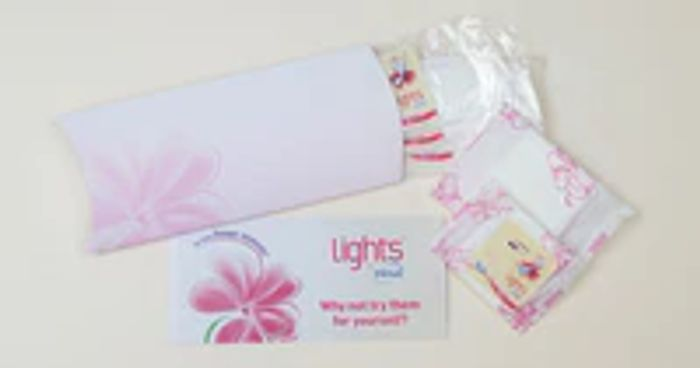 Order Your Free Lights by TENA Sample Pack