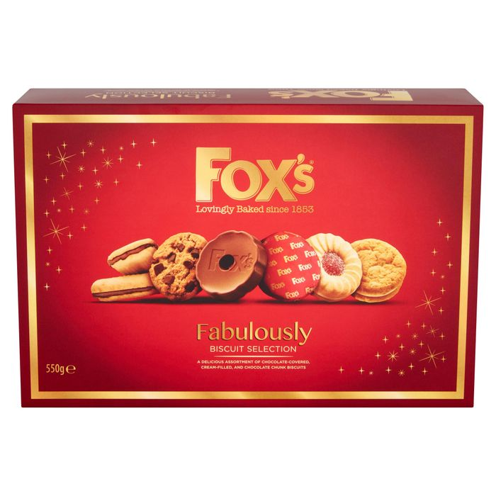 Fox's Fabulously Biscuit Selection 550g - Only £2!