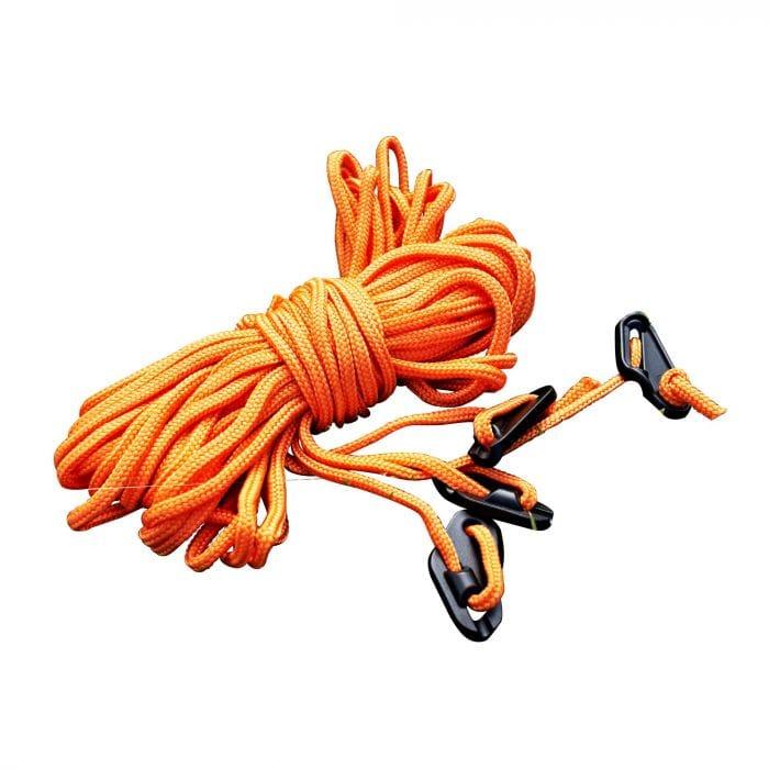 Regatta 4 Pack 2 Metre Guy Lines - Orange