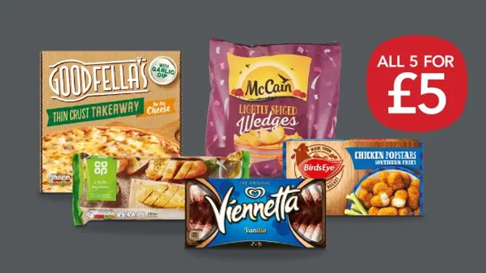 Cheap New Co-Op £5 Meal Deal - Save £5.25!