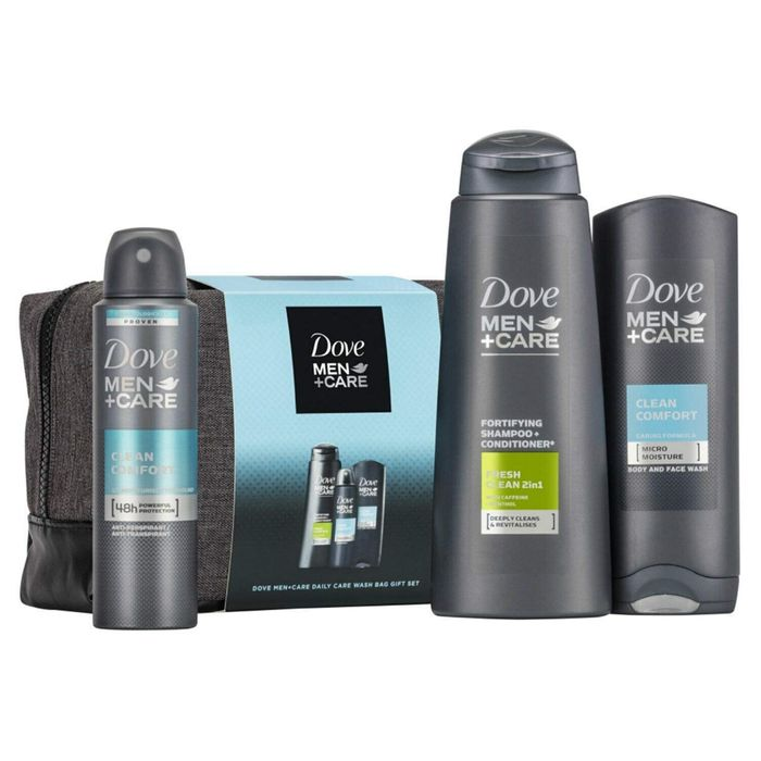 Cheap Dove Men and Care Daily Wash Bag Gift Set at Argos - Only £7.99!