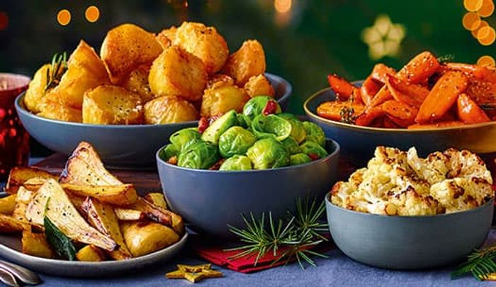 29P Festive Veg - Cauliflower, Sprouts ,Carrots ,Parsnips ,Potatoes at Tesco