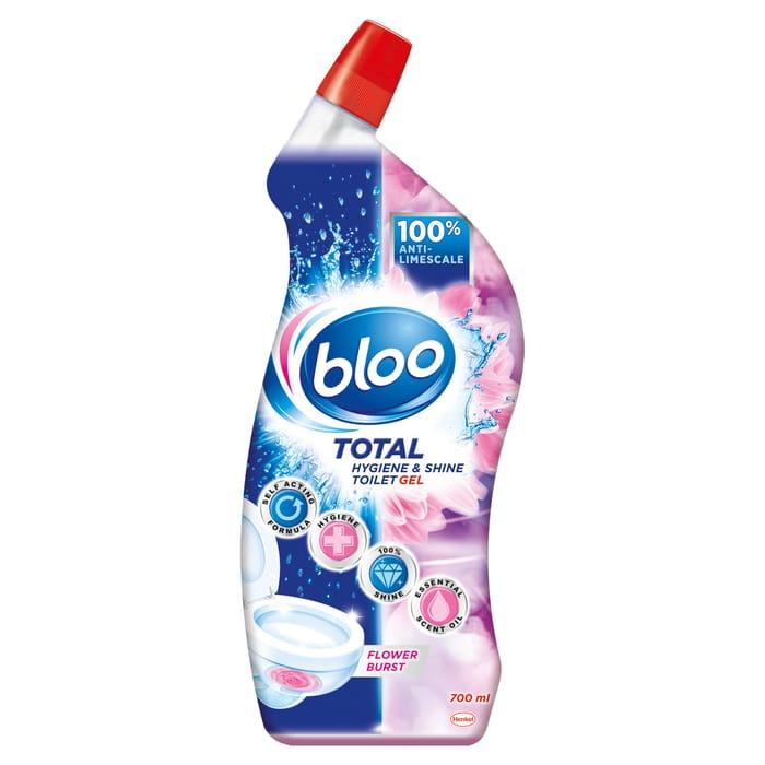 Bloo Total Shine & Hygiene Toilet Gel Fruit Burst - HALF PRICE!