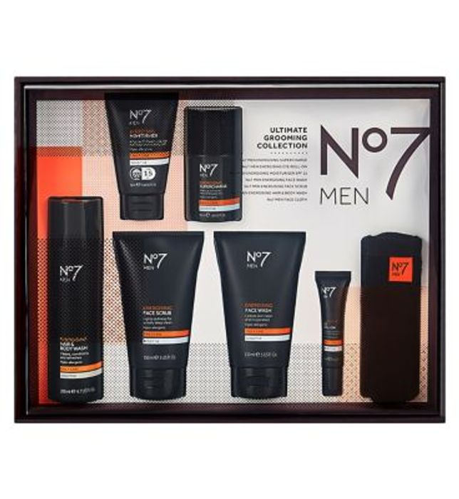 *BETTER than HALF PRICE* No7 Men Ultimate Grooming Collection