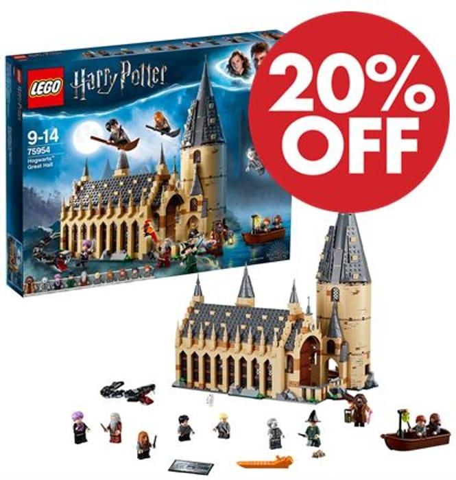LEGO Harry Potter - Hogwarts Great Hall (75954) *4.9 STARS*