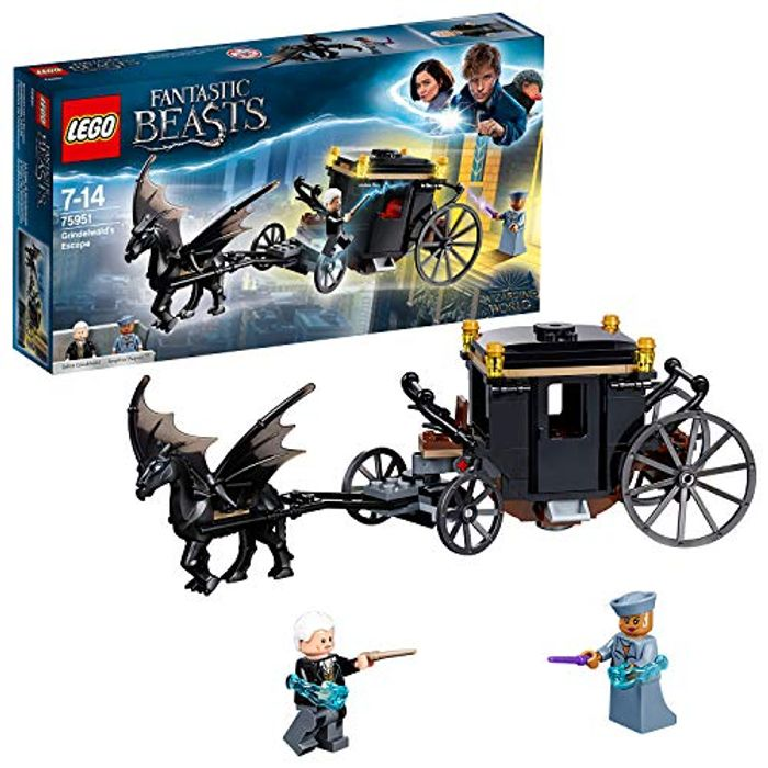 LEGO Harry Potter - Grindelwalds Escape Carriage (75951) - Save £4!