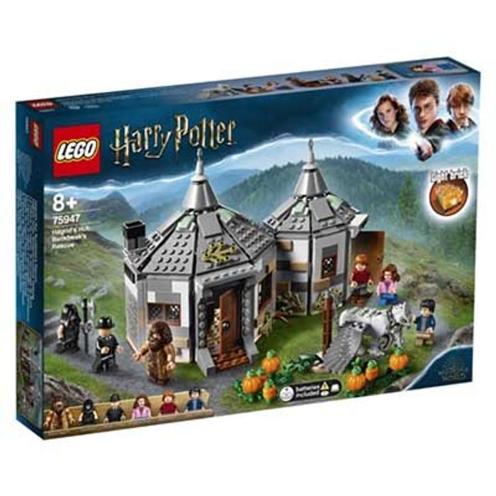 £10 off & FREE DEL! LEGO HARRY POTTER - Hagrid's Hut: Buckbeak's Rescue (75947)