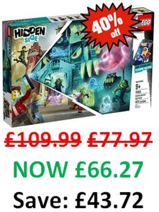 CHEAPEST PRICE! LEGO HIDDEN SIDE - Newbury Haunted High School - 70425