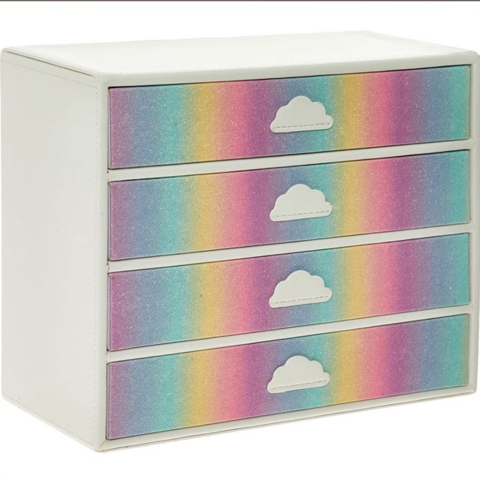 Cheap GLORIOUS Rainbow Storage Box, Only £16.99!