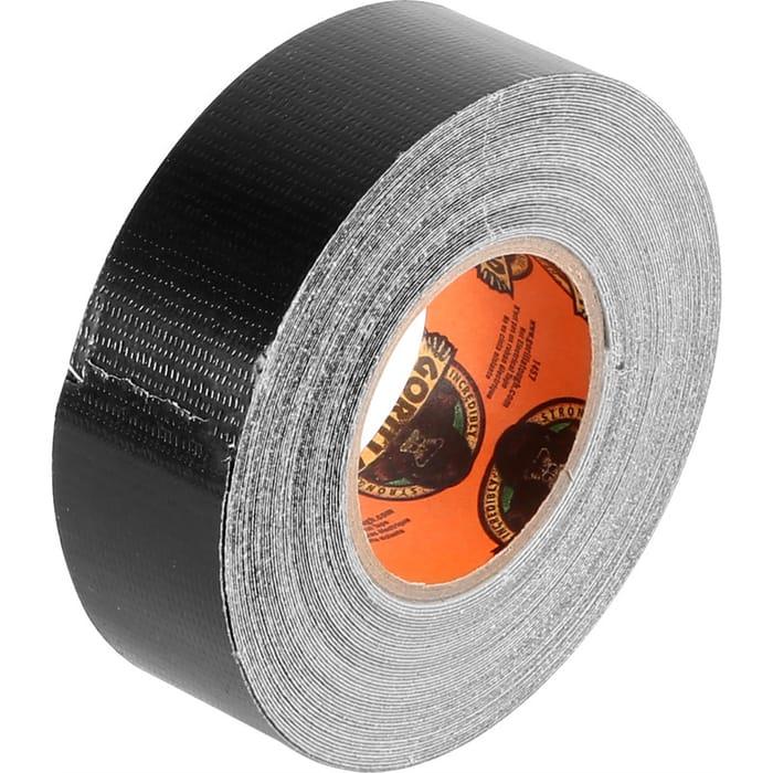 Gorilla Cloth Duct Tape Black 25mm X 9.14m - Save £0.27!