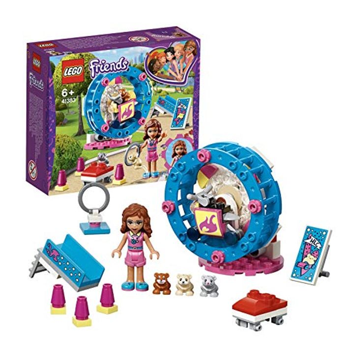 LEGO 41383 Friends Olivia's Hamster Playground Building Set - 46% Off!