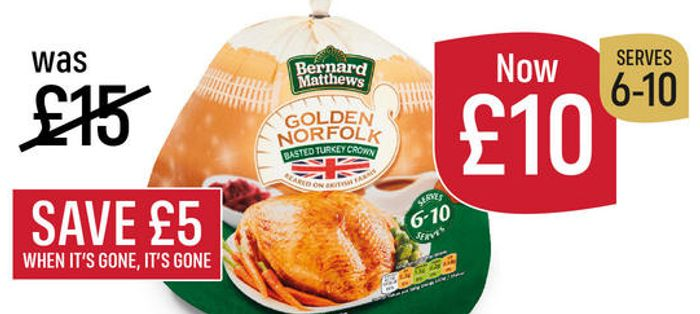Medium Turkey Crowns Just £10 2 - 3kgs