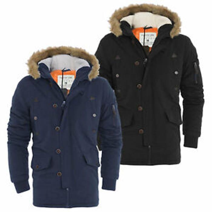 Tokyo Lee Faux Fur Winter Parka Coat