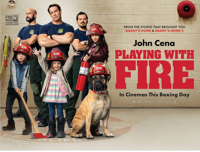 Free Playing with Fire cinema screening on Sunday 15th December