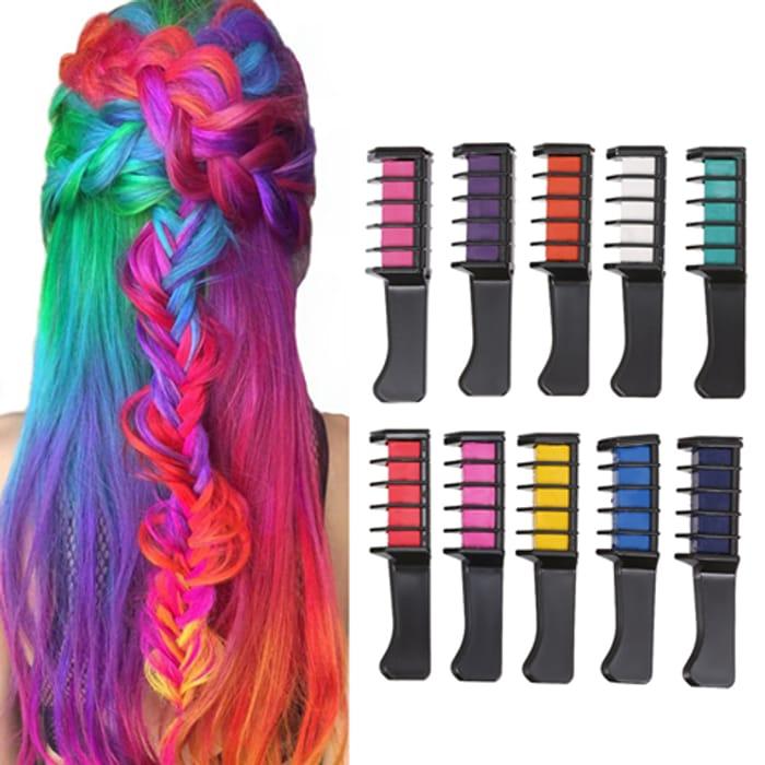 Chalk Comb Hair Colours